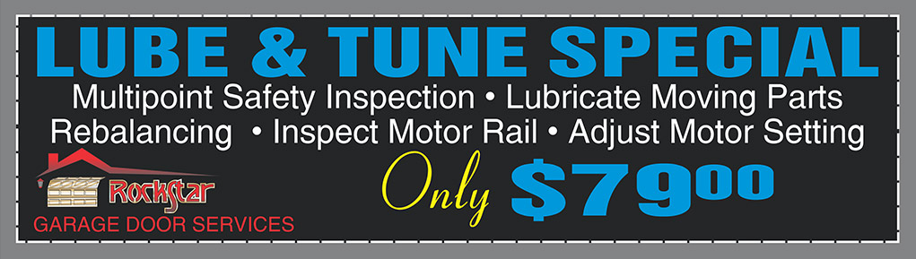 lube and tune special
