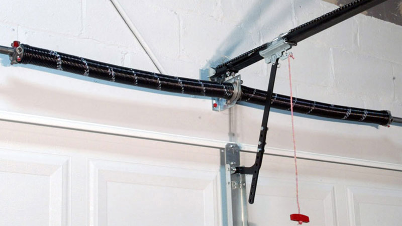 the most common reason for garage door springs breaking is due to normal wear and tear which you would expect aside from that rust can shorten the