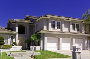 Luxury House with a Garage - San Diego Garage Door Repair