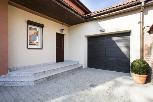 Exterior of a Garage - Garage Door Repairs in San Diego