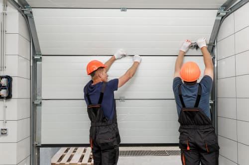 How do you diagnose a garage door problem
