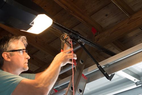 What is the average life of a garage door opener
